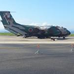 C-1輸送機搭乗体験に行って来ました
