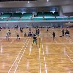第72回鳥取県東部社会人バドミントンリーグ(2015春)を見てきました