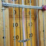 緑風体育館の気温3.5度!