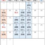 """<span class=""""title"""">カレンダーに参加人数を記載しますのでご参考に</span>"""